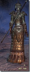 Orc Sorcerer Veteran - Female Back