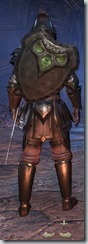 Redguard Dragonknight Veteran - Male Back