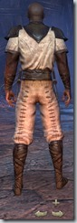 Redguard Nightblade Novice - Male Back
