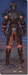 Redguard Nightblade Veteran - Male Back