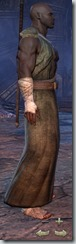 Redguard Sorcerer Novice - Male Right