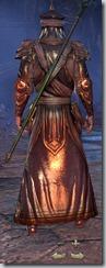 Redguard Sorcerer Veteran - Male Back