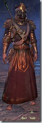 Redguard Sorcerer Veteran - Male Front
