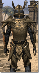 Altmer Ebon - Male 46 Superior Close Back