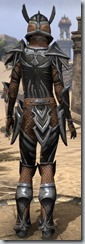 Altmer Ebon - Female 50 Normal Back