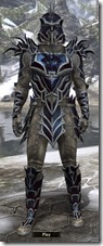 Daedric Steel - Male 16-18 Normal Front