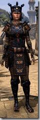 Argonian Obsidian - Female 46 Fine Front