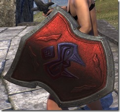 Ruby Ash Orc Shield