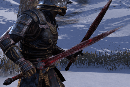 Eso Fashion Akaviri Rubedite Sword Elder Scrolls Online