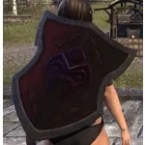 Orc Ruby Ash Shield