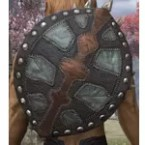 Argonian Nightwood Shield