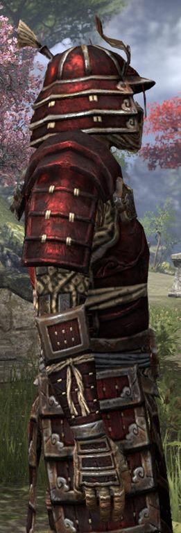 Eso Fashion Akaviri Rubedite Elder Scrolls Online
