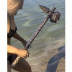 Ancient Orc Iron Mace