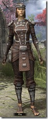 Argonian Iron - Female Front