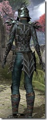 Daedric Quicksilver - Female Back
