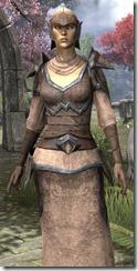 Dunmer Homespun Robe - Female Close Front