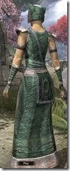 Khajiit Homespun Robe - Female Back