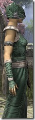 Khajiit Homespun Robe - Female Close Side