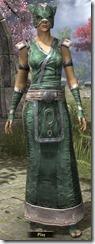 Khajiit Homespun Robe - Female Front