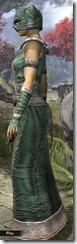 Khajiit Homespun Robe - Female Side