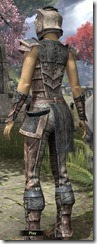 Khajiit Iron - Female Back
