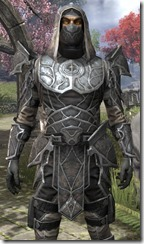 Thieves Guild Iron - Male Close Front