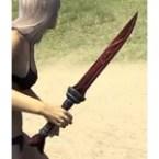 Thieves Guild Rubedite Dagger