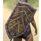 Ancient Orc Hickory Shield