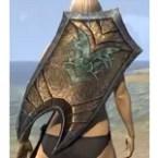 Dark Elf Hickory Shield