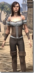 Corseted Riding Outfit - Female Close Front