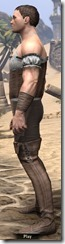 Corseted Riding Outfit - Male Side