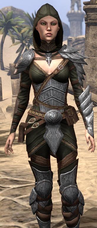 eso fashion elven hero armor elder scrolls online