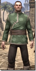 Eternity Tunic with Pants - Male Close Front