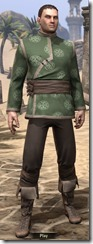 Eternity Tunic with Pants - Male Front