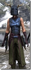 Nedic Keptu Armor Dyed Close Front