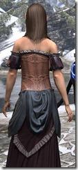Off-the-Shoulder Evening Dress Dyed Close Back