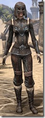 Orcisg Scout Armor - Female Front