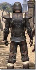 Orcisg Scout Armor - Male Close Back