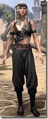 Pirate First Mate's Outfit - Female Front