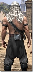 Pirate First Mate's Outfit - Male Close Back