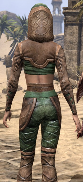 ESO Fashion Wood Elf Vanguard