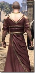 Cyrod Patrician Formal Gown - Male Close Back