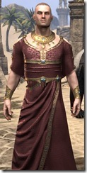Cyrod Patrician Formal Gown - Male Close Front