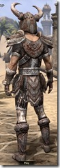 Draugr Iron - Male Back