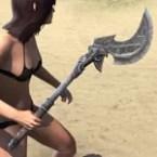Grim Harlequin Iron Axe