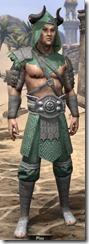 Minotaur Homespun Robe - Male Front