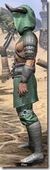 Minotaur Homespun Robe - Male Side