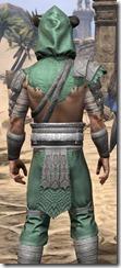 Minotaur Homespun Shirt - Male Close Back