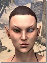 Blind Left Eye Female
