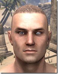 Blind Left Eye Male